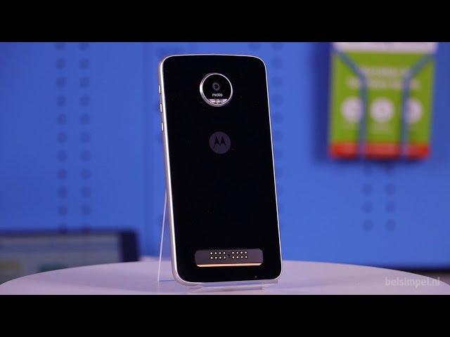 Belsimpel.nl-productvideo voor de Motorola Moto Z Play