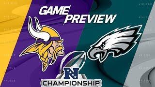 Minnesota Vikings vs. Philadelphia Eagles | NFC Championship Game Preview | NFL