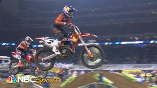 Supercross Round 3 at Houston   EXTENDED HIGHLIGHTS   1/23/21   Motorsports on NBC