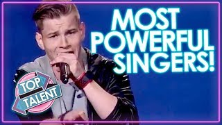TOP 5 Most Powerful Singing Auditions   Got Talent, X Factor & Idols   Top Talents
