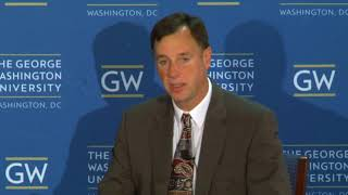U.S. Cyber Policy: Keynote Discussion with Rob Joyce, White House Cybersecurity Coordinator - YouTube