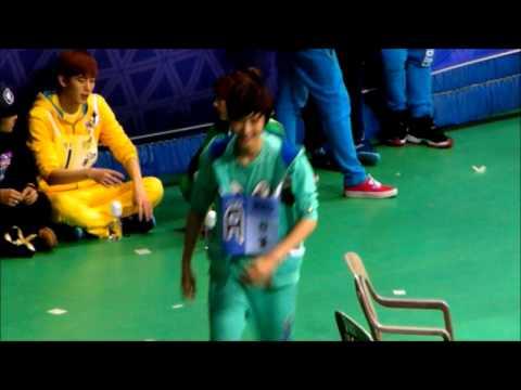 130128 아이돌 스타 육상&양궁 선수권 대회 Chanyeon hungry