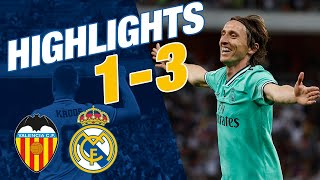 GOALS AND HIGHLIGHTS | Valencia 1-3 Real Madrid | Spanish Super Cup