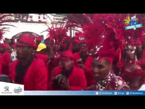 Le groupe GUIMBO pour la parade de Basse-Terre ! #Carnaval2020