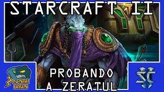 Starcraft 2 - Cooperativo en Brutal - Probando Comandante Zeratul