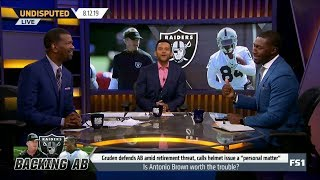 UNDISPUTED   Rob Parker and Jason McIntyre HEATED DEBATE: Is Antonio Brown worth the trouble?