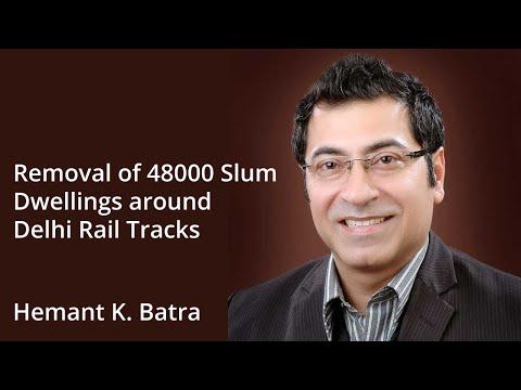 Delhi - Supreme Court directs removal of 48,000 slum dwellings along rail tracks