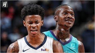 Charlotte Hornets vs Memphis Grizzlies - Full Highlights | October 14, 2019 | 2019 NBA Preseason