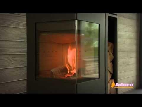 Holzlagerfach | Aduro 12 | Wood rack | Zusatzmodul