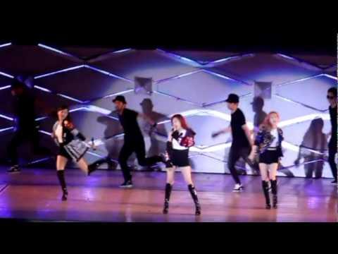 120609 SNSD-TTS+EXO - DJ Got Us Falling In Love Again (FANCAM REMIX)
