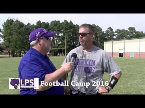 2016 Lufkin Panther Football Camp Day 4