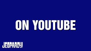 Jeopardy! | Teen Tournament | YouTube Category