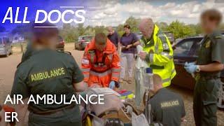 Air Ambulance ER: Helping a Golfer in Cardiac Arrest | Medical Documentary | Documental