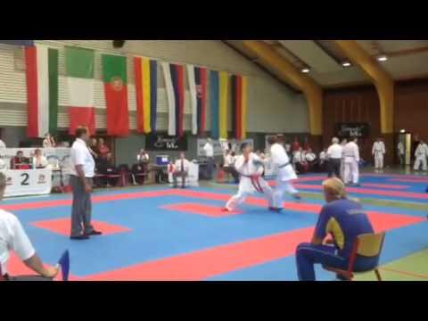 Чемпионат Европы EKGF. Негатуров Дмитрий - 2-й бой