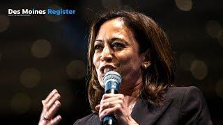 Full speech: Kamala Harris | Iowa Democrats' Hall of Fame event (6/19)