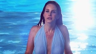 "Lana  Del Rey's ""Shades of Cool"" Tragic Bikini Music Video?!"
