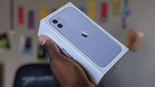 iPhone 11 (Purple) Unboxing & First Impressions