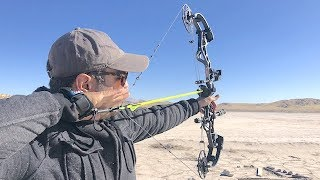 How Far can Arrows fly using Modern Bows?