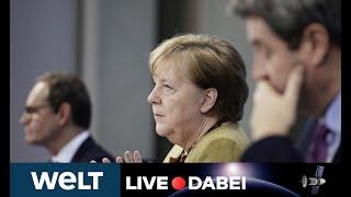 LIVE DABEI: Mega-Lockdown Light? - Briefing von Kanzlerin Merkel nach Corona-Gipfel mit den Ländern