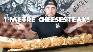 The ULTIMATE Philly Cheese Steak Food Challenge | My HARDEST CHALLENGE YET