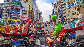MARIO KART IN REAL LIFE! (Streets of Tokyo!)