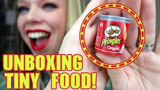 Whats Inside these Tiny Real Foods?! - Mystery UNBOXING