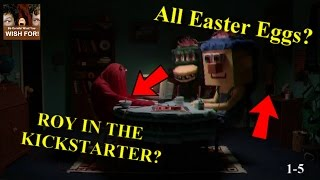 All Easter Eggs From Don't Hug Me I'm Scared (with PandaWatch)