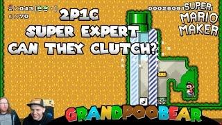 2 Players 1 Controller Super Expert Madness! Mario Maker