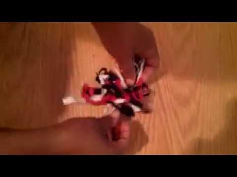Fabric Hair Tie Bows