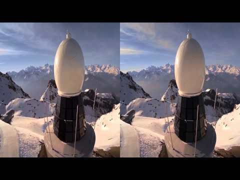 DJI - New Swiss weather Radar in 3D - Dual HERO - muviag
