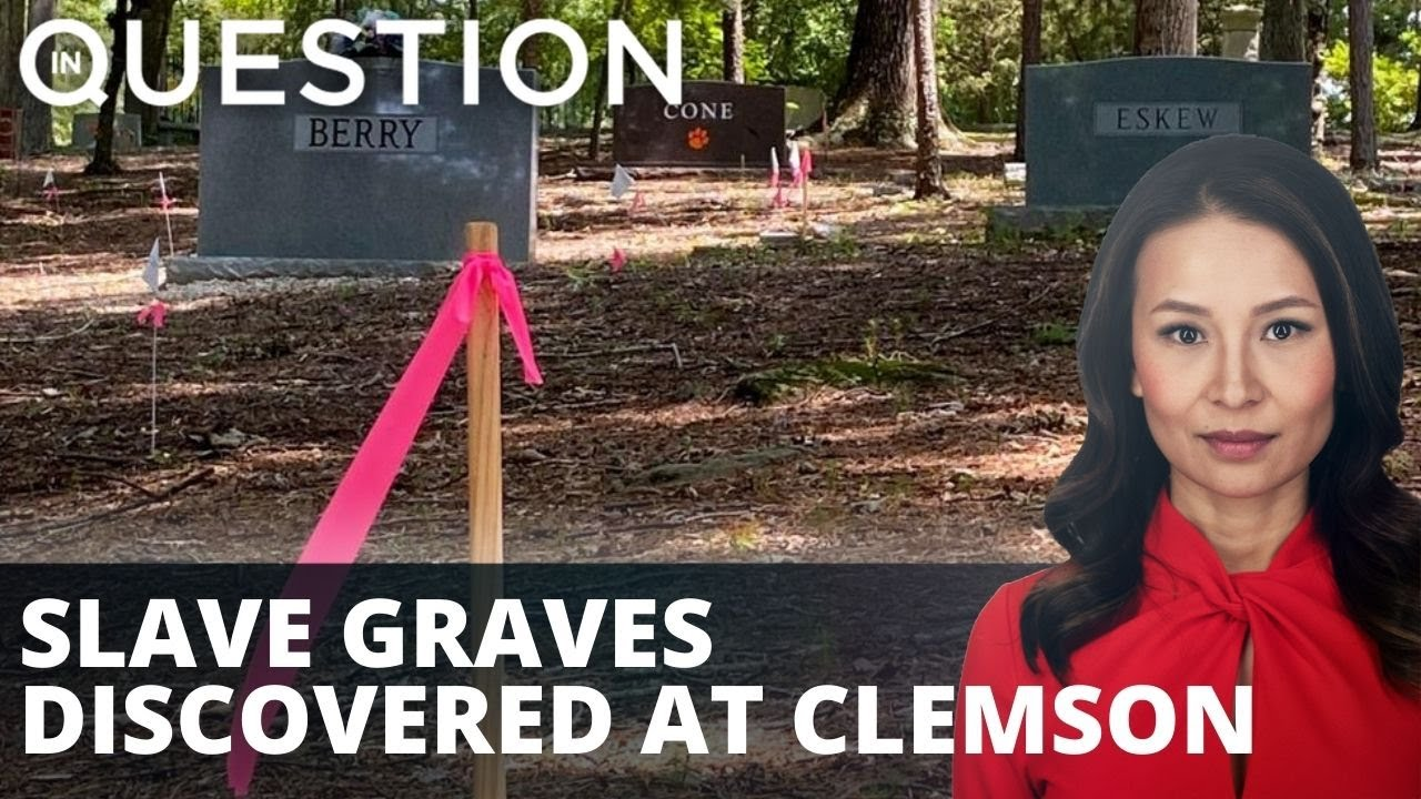 Additional unmarked slave graves discovered at Clemson University