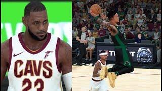 NBA 2K18 MyCareer #55: TENTEI MARCAR O LEBRON JAMES!