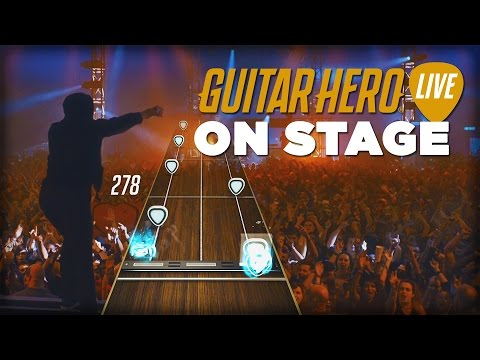 On Stage With The New Guitar Hero Live - Everything is Different