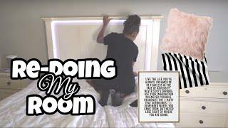 Redoing My Room/Room Makeover   LexiVee03