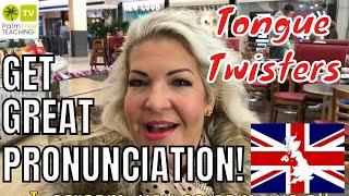 Tongue Twisters in English │ PRONUNCIATION FUN!