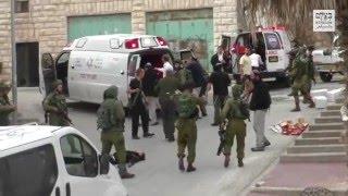 بالفيديو.. لحظة تفجير رأس فلسطينى مصاب بسلاح جندى إسرائيلى