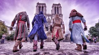 Assassin's Creed Unity Meets Parkour in Real Life - 4K!