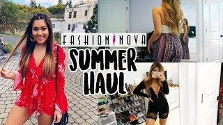 MASSIVE FASHION NOVA TRY ON HAUL (summer 2018) | Annie Nguyen ♡