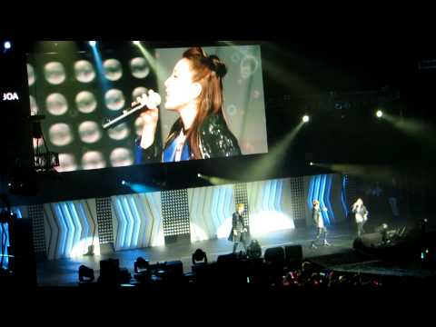 [FANCAM] 120520 Kris, BoA, Key - One Dream @ SM Town LA