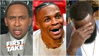 Stephen A., Kendrick Perkins can't believe Russell Westbrook isn't on Max's Top 10 list | First Take