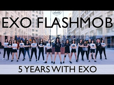 EXO 5th Anniversary Celebration - Flashmob by EXO-L ARMENIA