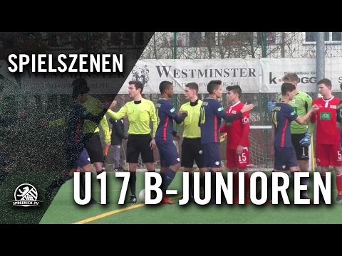 1. FC Union Berlin - RB Leipzig (U17 B-Junioren, Bundesliga Nord/Nordost) - Spielszenen | SPREEKICK.TV