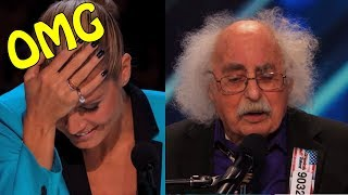 Ray Jessel 84 Year Old Fuuny Singer  America's Got Talent 2014|GTF