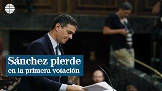 España: Pedro Sánchez pierde la primera votación pero Podemos se abstiene para retomar la negociación