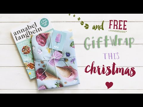 Annabel Langbein Christmas Gift Wrap
