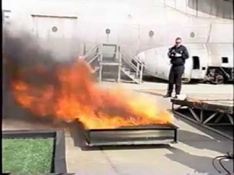 FAA Burn Test Video
