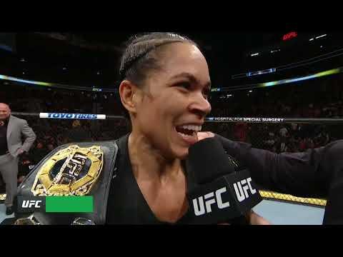 UFC 239: Amanda Nunes Octagon Interview