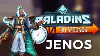 Paladins in 90 Seconds - Jenos, the Ascended