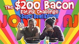 $200 BACON CHALLENGE | Josh Darnit