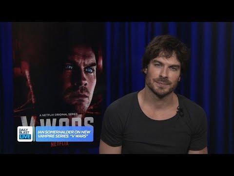 """Ian Somerhalder On New Vampire Series """"V Wars"""""""